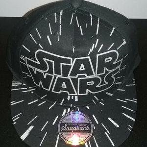 New Boys Disney Star Wars Baseball Black Cap Hat